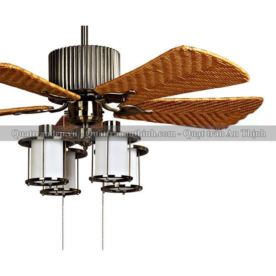Quạt trần cánh gỗ An Thịnh 15M-0859A