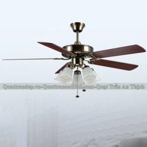 Quạt trần cánh gỗ An Thịnh 66TA-908 1