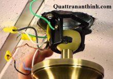 Kiểm tra chất lượng của tụ và gắn kết với trần nhà