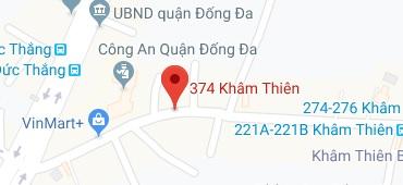 Bản đồ Showroom Hà Nội
